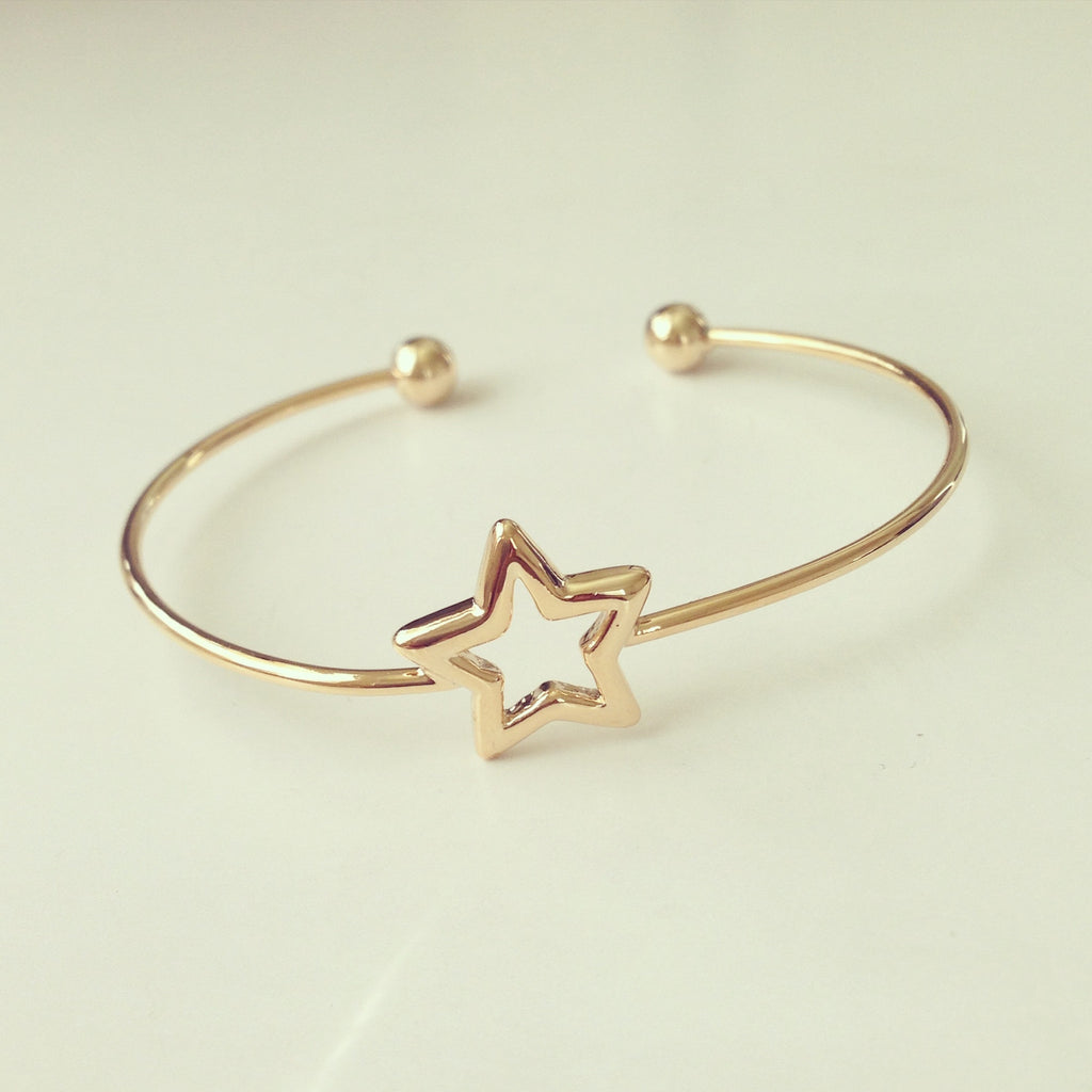 Open Star Bangle