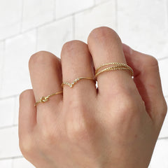 Linked Thin Ring