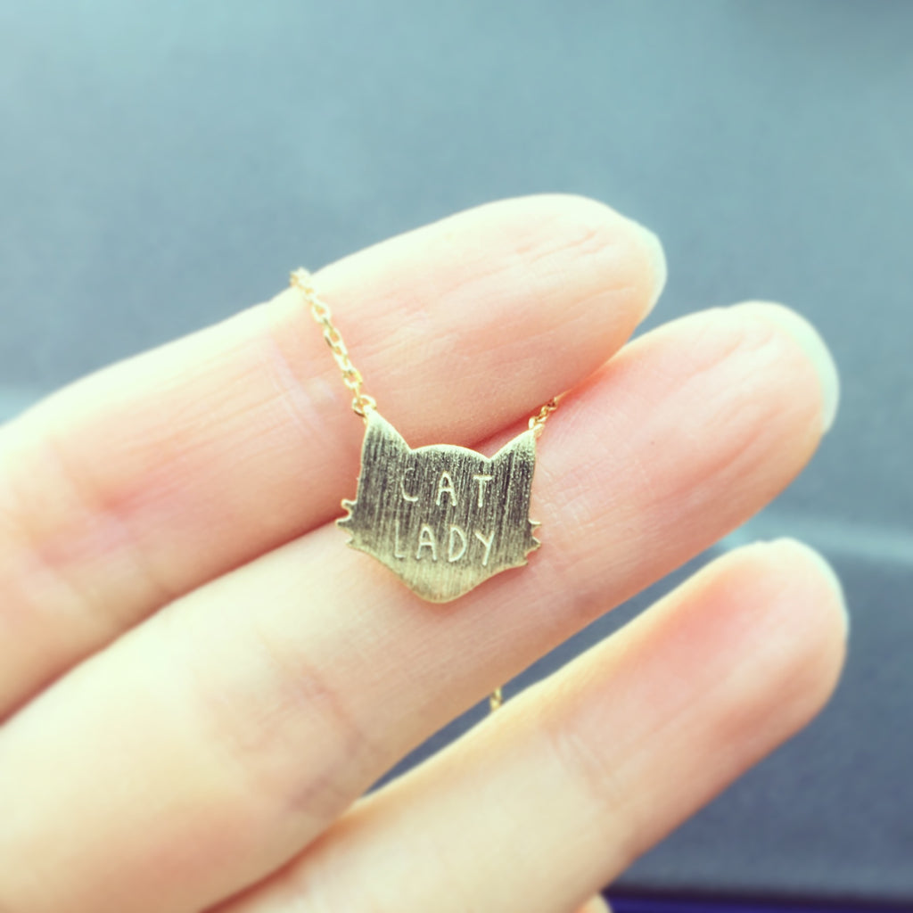 Cat Lady  Necklace