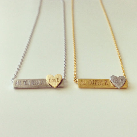 All You Need Is Love Necklace