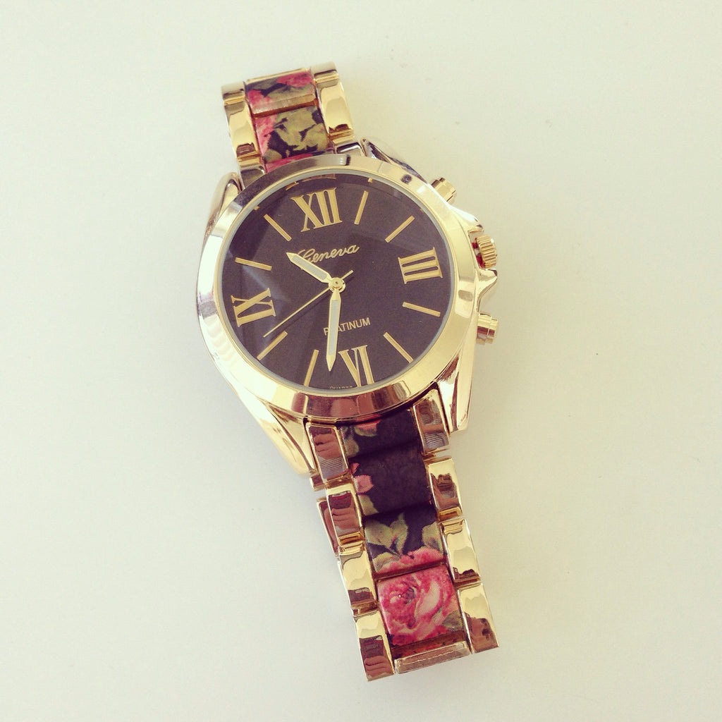 Printed Bracelet Watch b