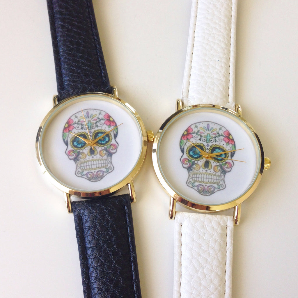 Romantic Skull Watch