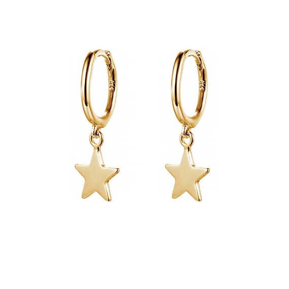 Dangled Star Earrings