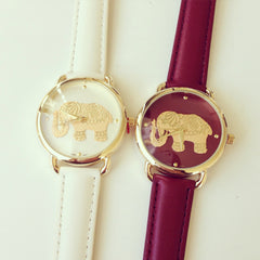 Elephant Gold Foil Watch