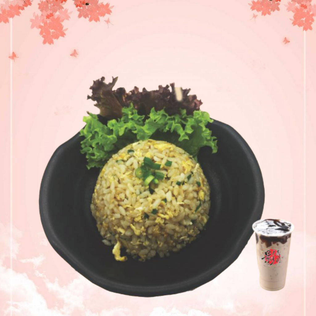 Garlic Japanese Fried Rice 蒜蓉炒饭