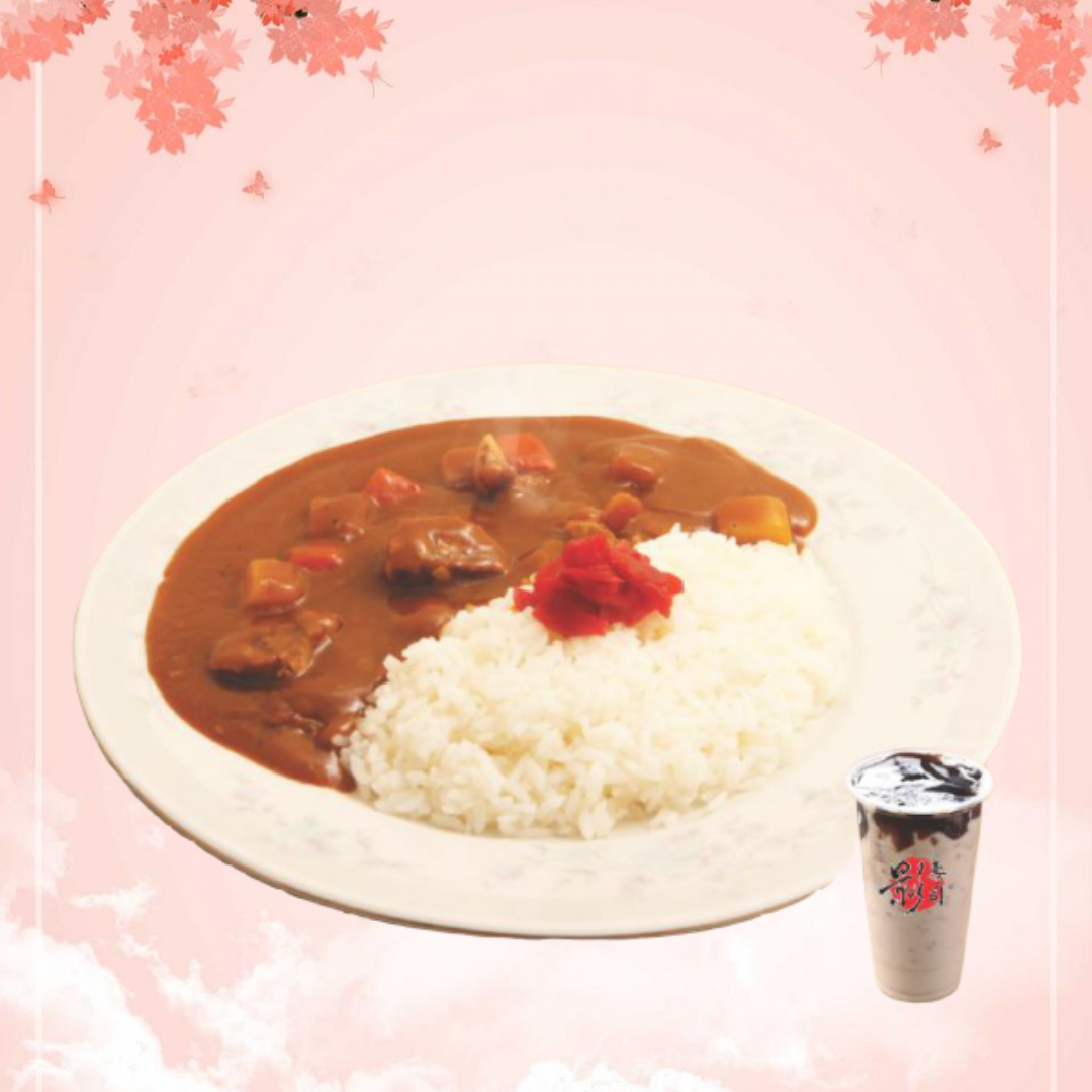 Beef Curry Rice牛肉咖喱饭