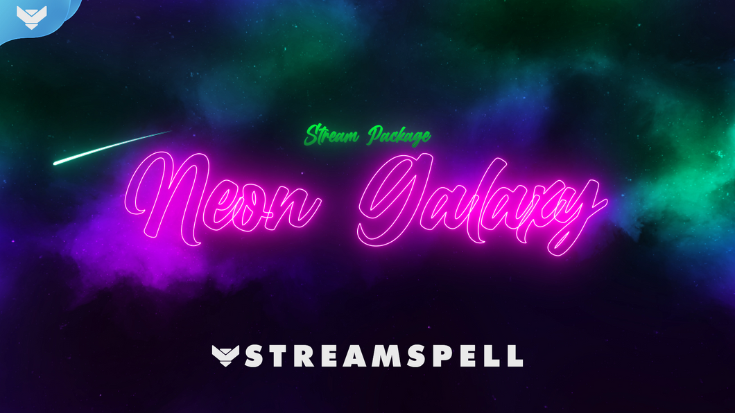 Neon Galaxy Stream Package