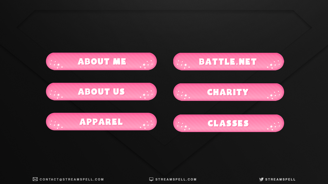 Free Cute Stream Panels