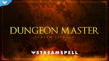 Load image into Gallery viewer, Dungeon Master Stream Package