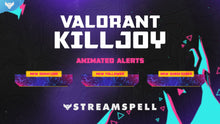 Load image into Gallery viewer, VALORANT: Killjoy Stream Alerts