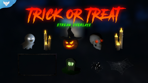 Trick or Treat Stream Overlays