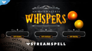 Whispers Stream Alerts