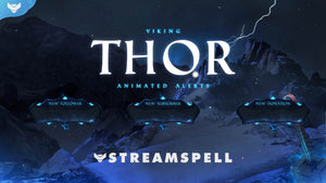 Viking: Thor Stream Alerts
