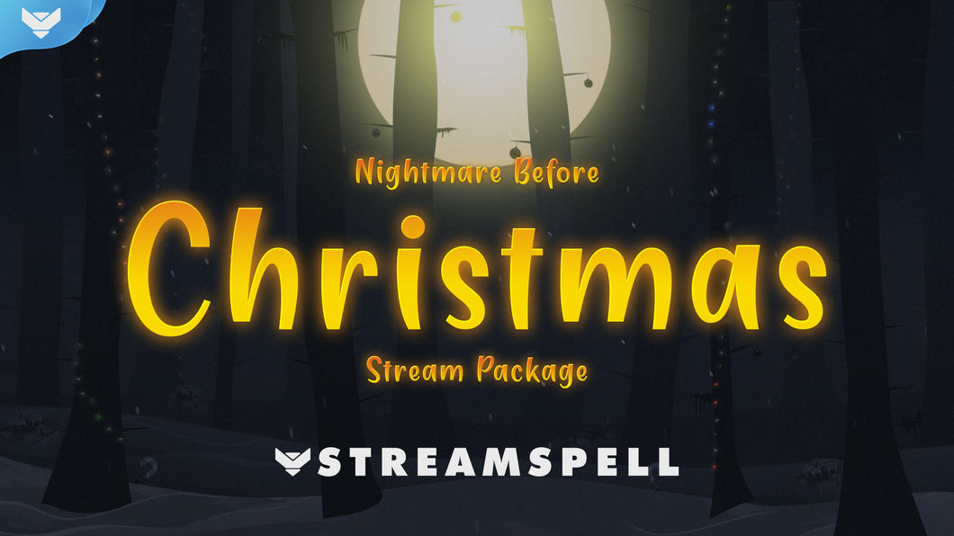 Nightmare Before Christmas Stream Package