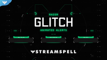 Load image into Gallery viewer, Razor Glitch Stream Alerts