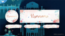 Load image into Gallery viewer, Watercolor Flowers Stream Package