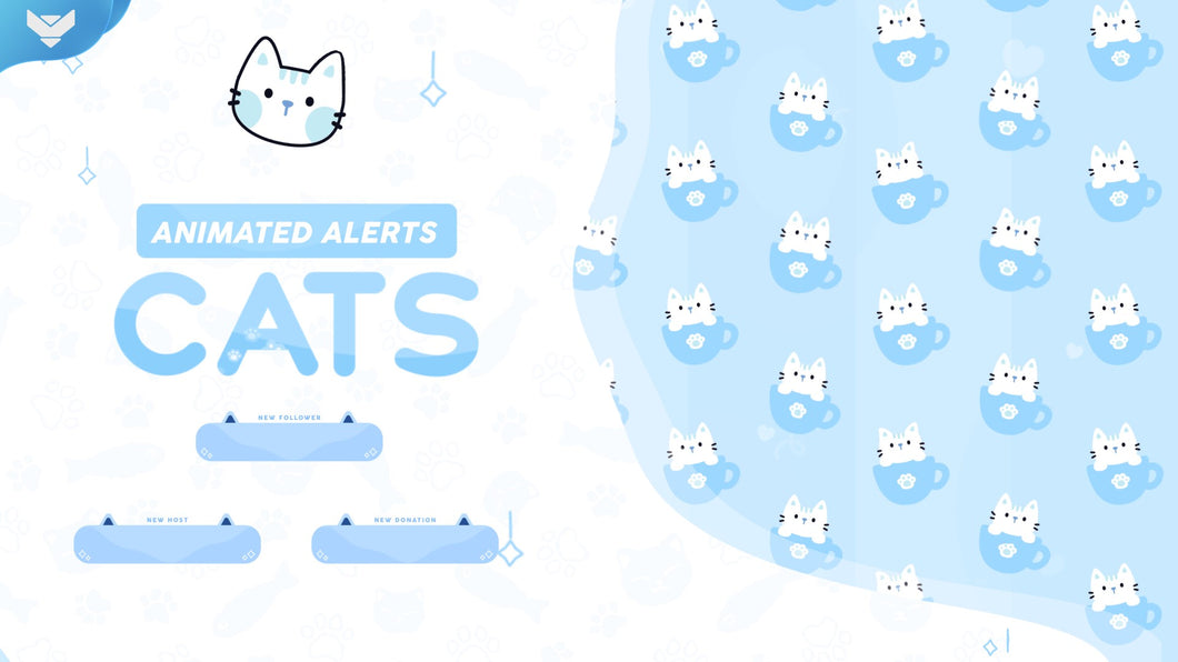 Cats Stream Alerts