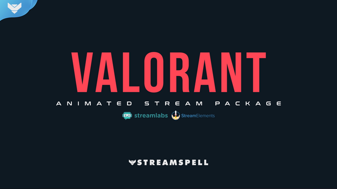 VALORANT Animated Stream Package