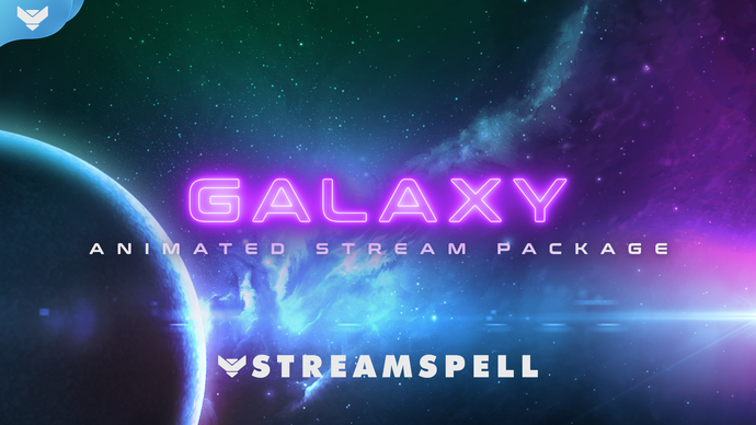 Galaxy Animated Stream Package