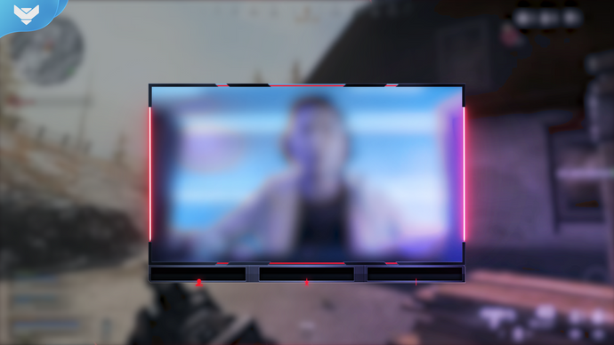 Cyberpunk Animated Webcam Overlay