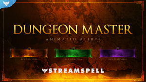 Dungeon Master Stream Package