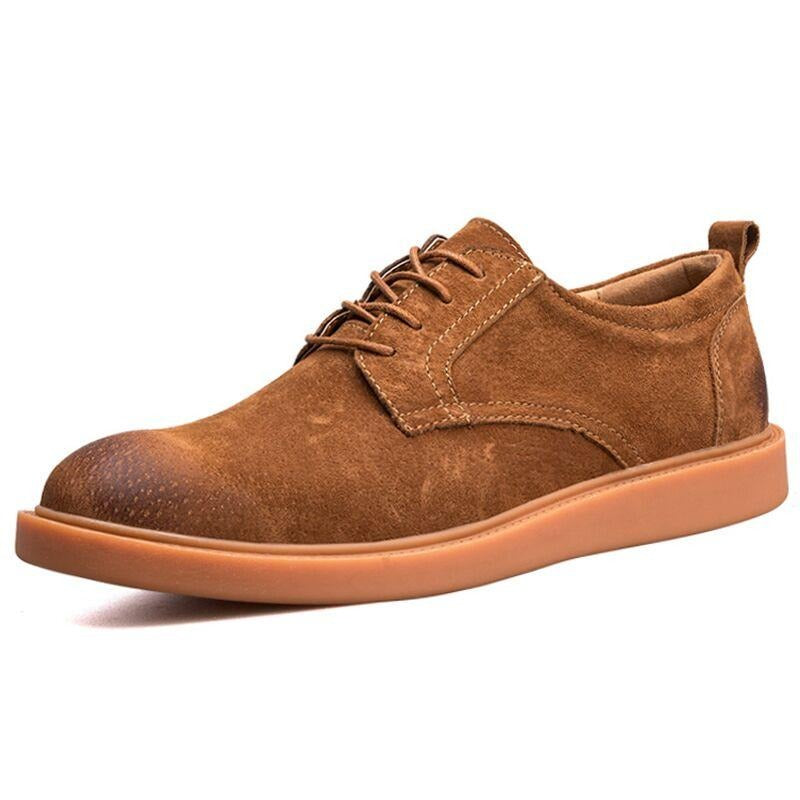 Breathable  Leather  Shoes - Men's Shoes