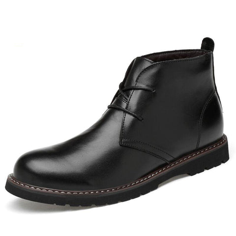 genuine leather boots - Men's Shoes