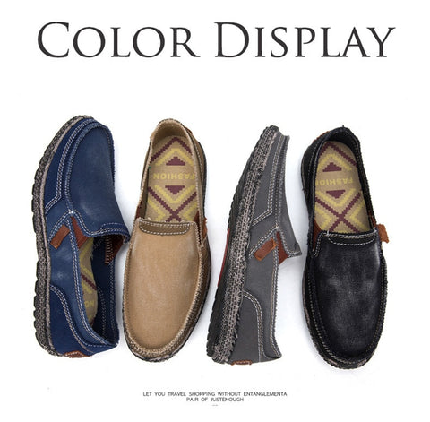 Image of lightweight  Comfortable Moccasins - Men's Shoes