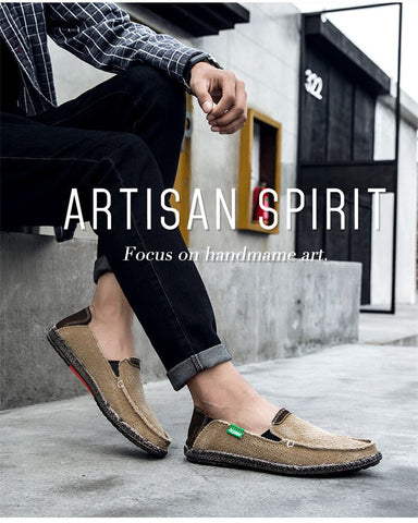 Image of Summer Canvas Shoes - Men's Shoes