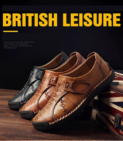 Leather Handmade Shoes - Men's Shoes