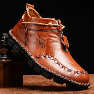 Leather Boots - Men's Shoes