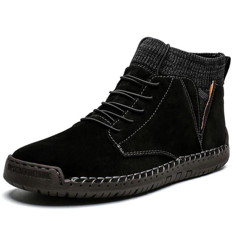 Image of Warm Snow Boots - Men's Shoes