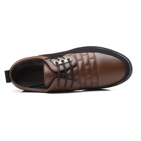 Leather Men's Shoes - Men's Shoes