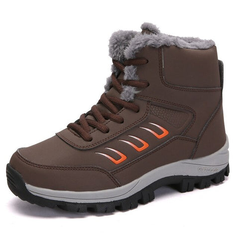 Image of Warm Women's Snow Boots - Men's Shoes