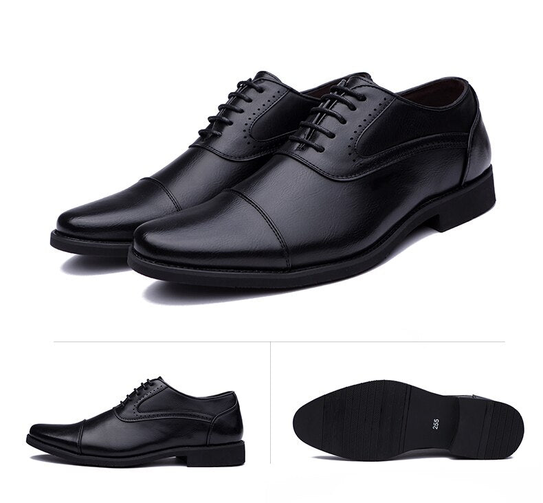 Pointed Toe Dress Shoes - Men's Shoes