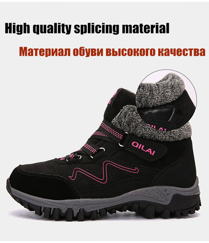 Waterproof Ankle Boots - Men's Shoes