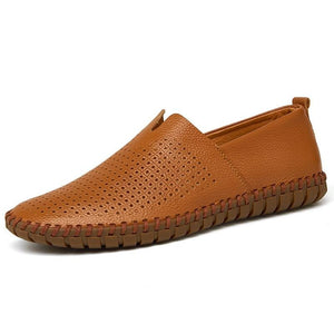 Summer Handmade Moccasins - Men's Shoes
