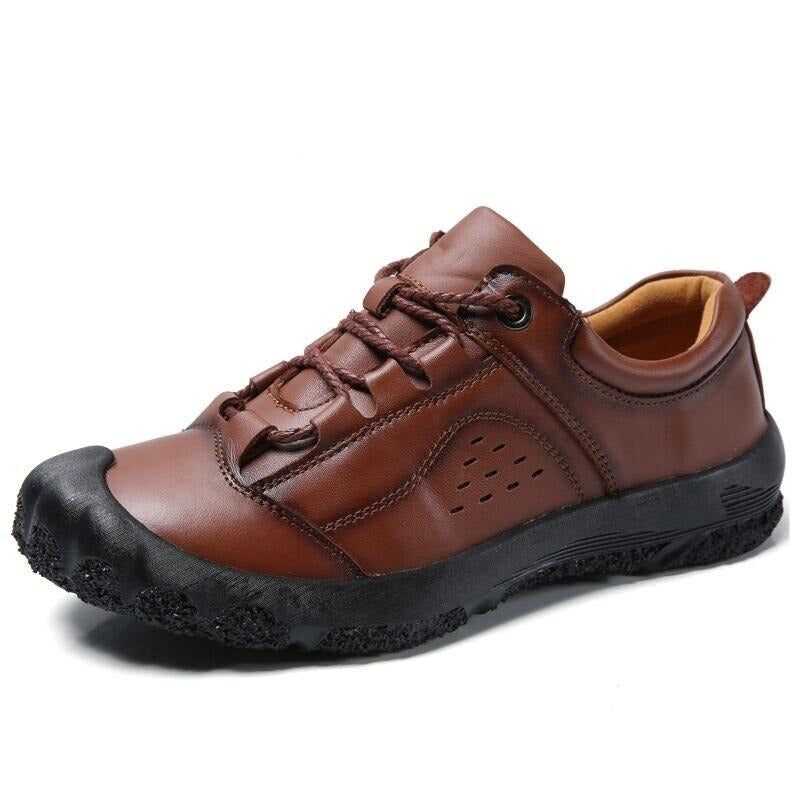Genuine Leather Casual - Men's Shoes