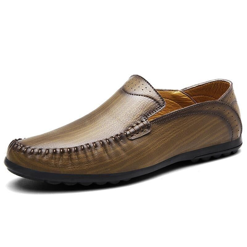 Leather Casual Shoes - Men's Shoes
