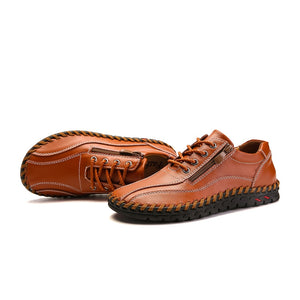 Men's Zip Loafers - Men's Shoes