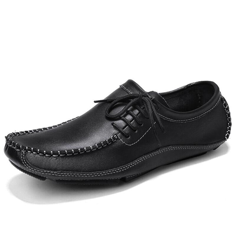 Leather Men Loafers - Men's Shoes