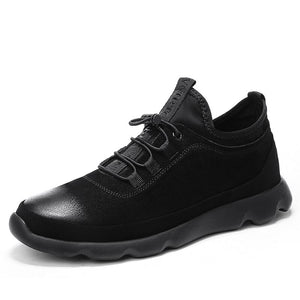 Leather Sneakers - Men's Shoes