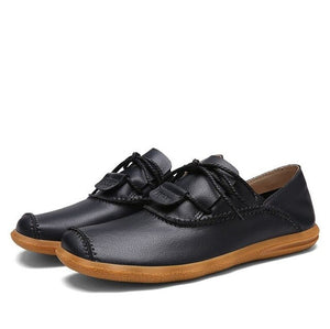 Genuine Leather Shoes - Men's Shoes