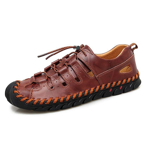 Summer Leather Shoes - Men's Shoes