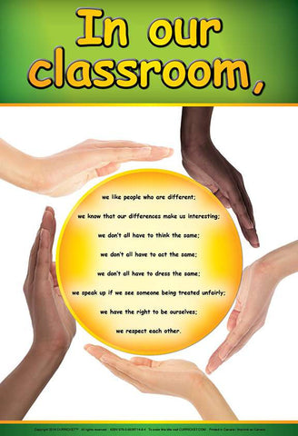 In Our Classroom - from Curricket educational - a Poster