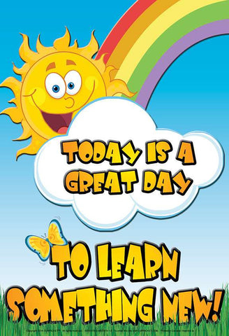 Today Is a Great Day - from Curricket educational - a Poster