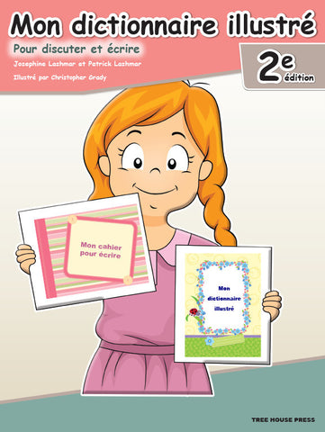 Mon dictionnaire illustré 2e - from Curricket educational - a Student Skill Book