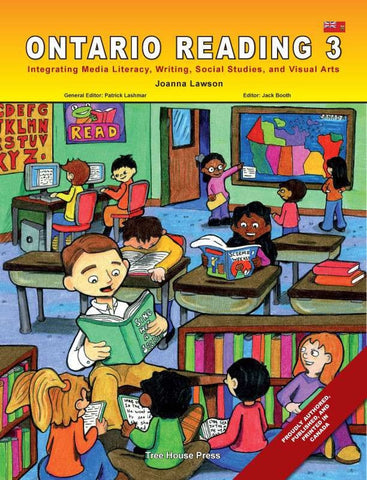Ontario Reading 3 - from Curricket educational - a Student Skill Book