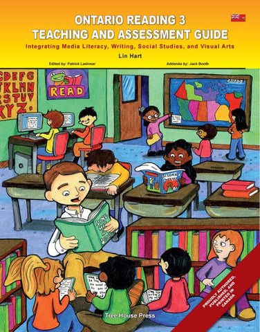 Ontario Reading 3 Teaching and Assessment Guide - from Curricket educational - a Teacher Guide