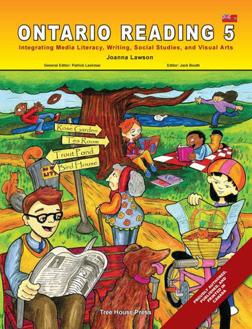Ontario Reading 5 - from Curricket educational - a Student Skill Book